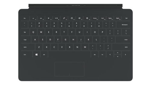 Microsoft Touch Cover 2 (Schwarz)