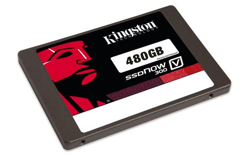 Kingston Technology SV300S37A/480G 480GB Solid State Drive (SSD) (Schwarz, Grau, Rot, Weiß)