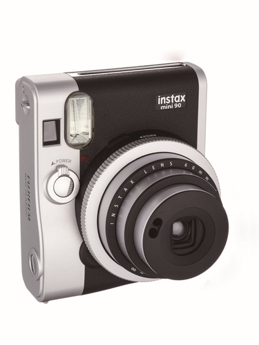 Fujifilm instax mini 90 NEO CLASSIC (Schwarz, Edelstahl)
