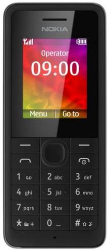 Nokia 106 (Schwarz)