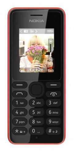 Nokia 108 Dual-Sim (Rot)