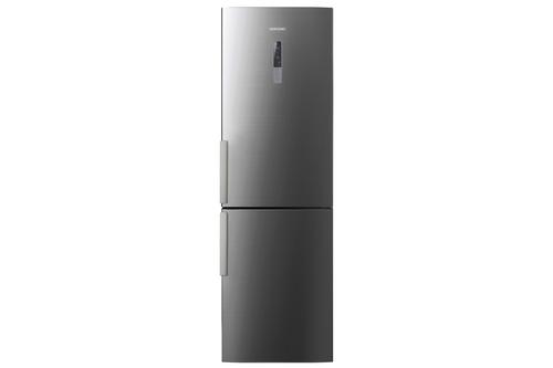 Samsung RL60GQGIH1 Kühl-Gefrierschrank (Grau, Silber, Edelstahl)