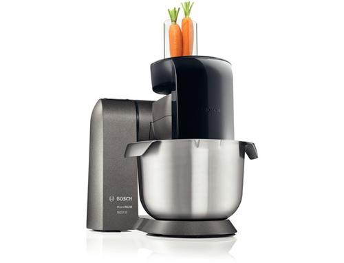 Bosch MUZXLVL1 Küchenmaschine (Schwarz, Edelstahl)