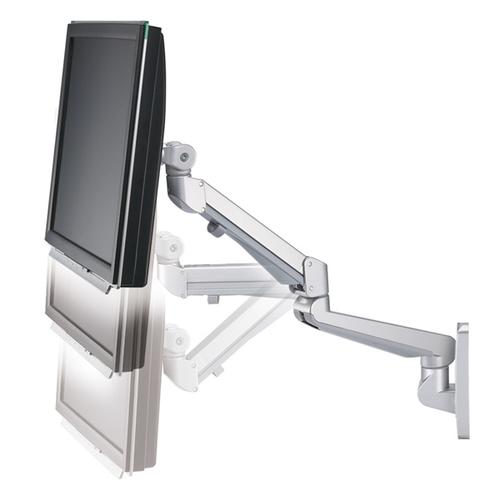 ROLINE LCD-Arm Pneumatic, Wandmontage, 2 Gelenke, Pivot