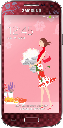Samsung Galaxy S4 Mini GT-I9195 8GB 4G Red (Rot)