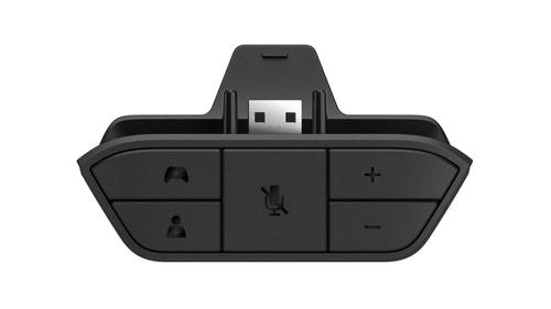 Microsoft Xbox One Stereo Headset Adapter (Schwarz)