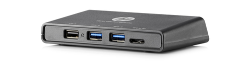 HP 3001pr USB 3.0 Port Replicator (Schwarz)