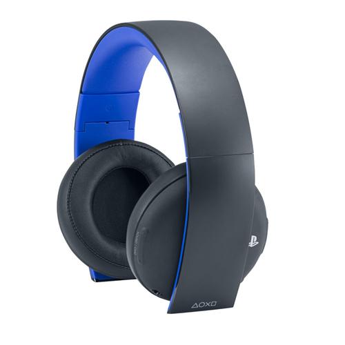 Sony PS4 Headset (Schwarz, Blau)