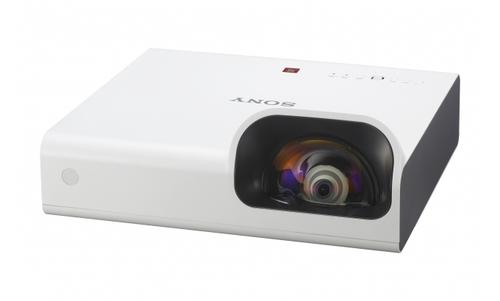 Sony VPL-SW235 Desktop-Projektor 3000ANSI Lumen 3LCD WXGA (1280x800) Weiß Beamer (Weiß)