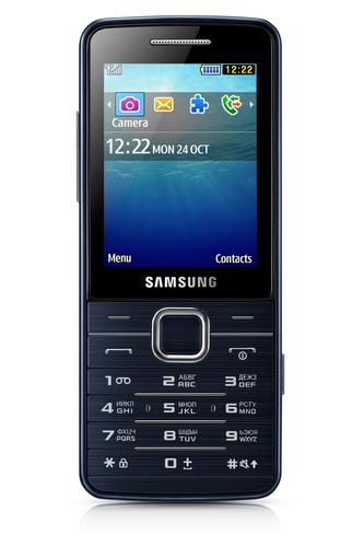 """Samsung S5611 2.4"""" 91g Schwarz (Schwarz)"""