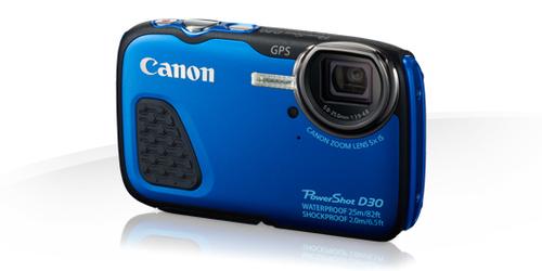 Canon PowerShot D30 (Blau)