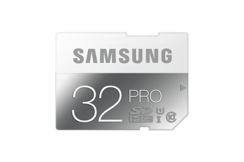 Samsung 32GB, SDHC, Pro (Grau, Weiß)