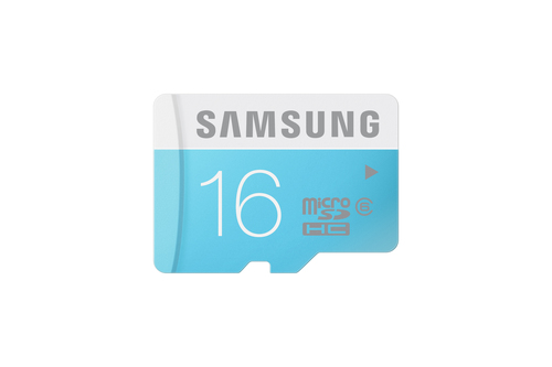 Samsung 16GB MicroSDHC, Standard (Blau, Weiß)