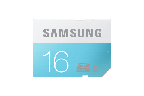 Samsung 16GB, SDHC Standard (Blau, Weiß)