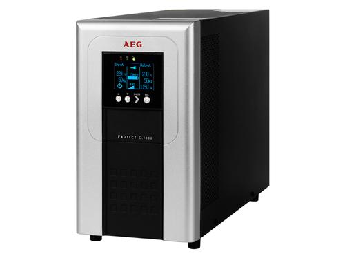 AEG Protect C. 3000 (2014) (Schwarz, Silber)
