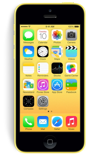 Apple iPhone 5c 8GB 4G Gelb (Gelb)