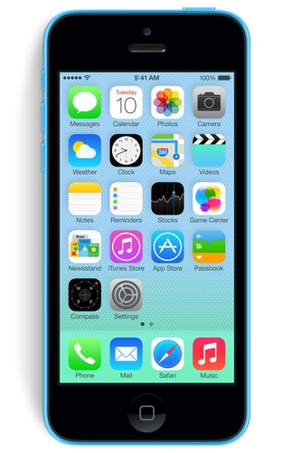 Apple iPhone 5c 8GB 4G Blau (Blau)