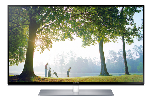 Samsung UE40H6750SVXZG LED TV (Schwarz, Silber)