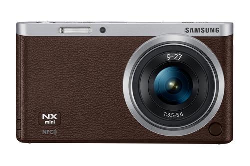 Samsung NX Mini (Braun)