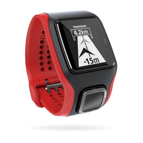 TomTom Runner Cardio (Schwarz, Rot)