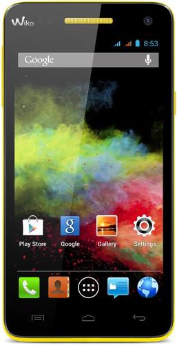 Wiko RAINBOW 4GB Gelb (Gelb)