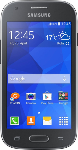 Samsung Galaxy Ace Style SM-G310 4GB Schwarz, Grau (Schwarz, Grau)