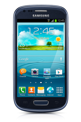 Samsung Galaxy S III mini GT-I8200 8GB Blau (Blau)