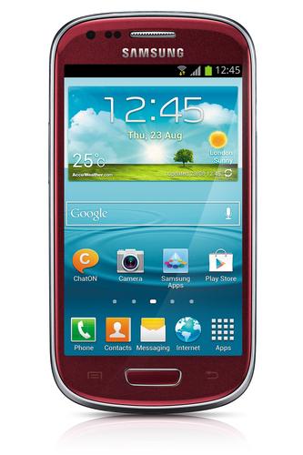 Samsung Galaxy S III mini GT-I8200 8GB Rot (Rot)