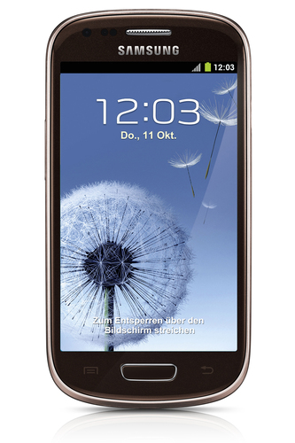 Samsung Galaxy S III mini GT-I8200 8GB Brown (Braun)