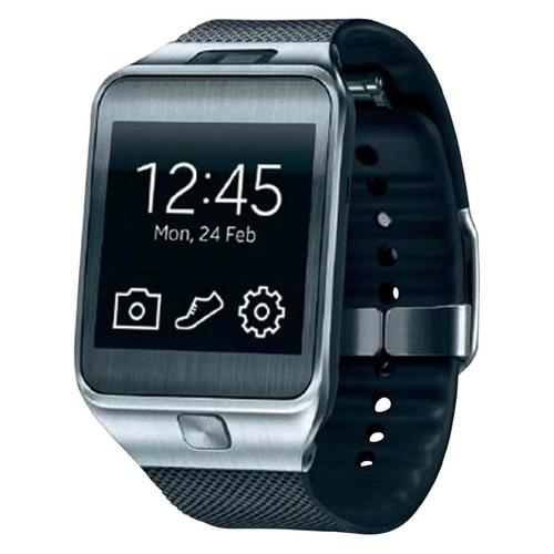 Samsung Gear 2 1.63Zoll SAMOLED 68g Metallisch Smartwatch (Schwarz, Metallisch)