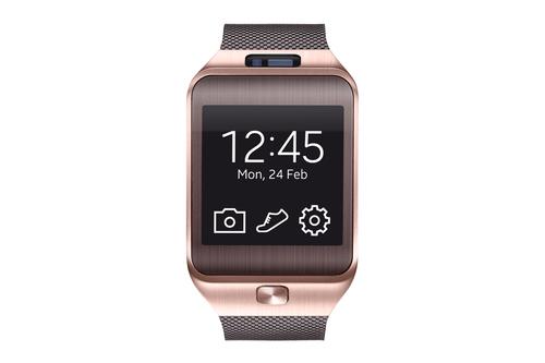 Samsung Gear 2 (Braun, Gold)