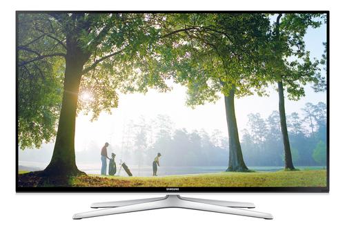 "Samsung UE48H6620SV 48"" Full HD 3D Kompatibilität Smart-TV WLAN Schwarz, Silber (Schwarz, Silber)"