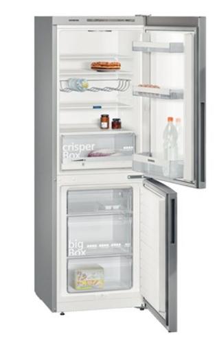 Siemens KG33VVI31 Kühl-Gefrierschrank (Silber, Edelstahl)