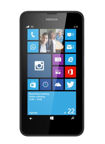 Nokia Lumia 635 Single SIM 4G 8GB Schwarz (Schwarz)
