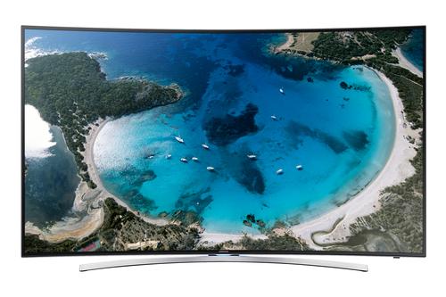 "Samsung UE55H8000 55"" Full HD 3D Kompatibilität Smart-TV WLAN Schwarz, Silber (Schwarz, Silber)"