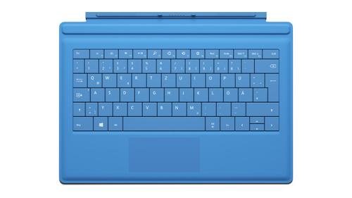 Microsoft RD2-00105 Tastatur für Mobilgerät (Cyan)