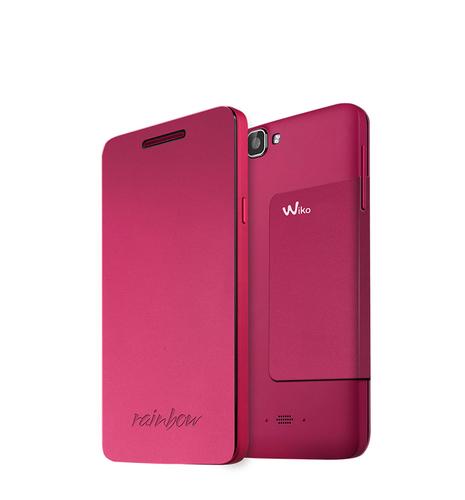 Wiko 92241 Handy-Schutzhülle (Pink)