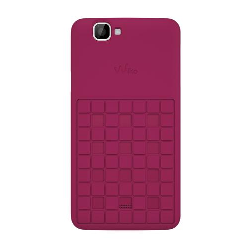 Wiko 92240 Handy-Schutzhülle (Pink)