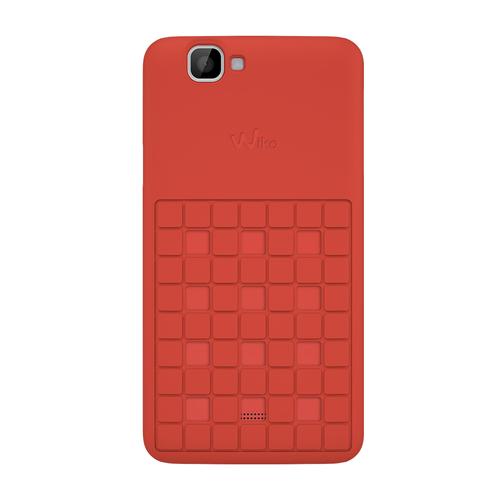 Wiko 92250 Handy-Schutzhülle (Coral)