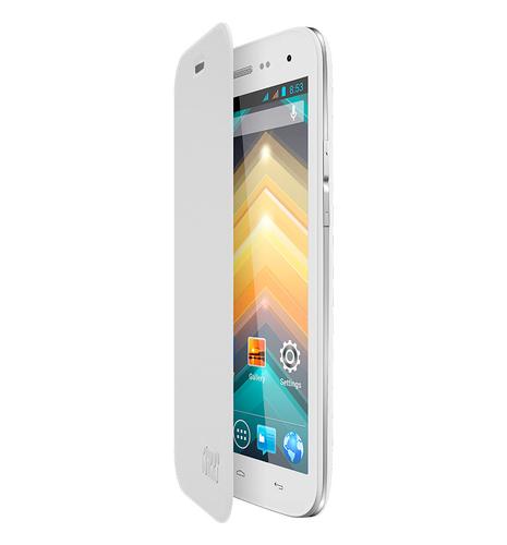 Wiko 92041 Handy-Schutzhülle (Weiß)