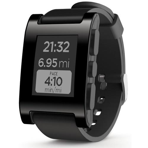 Pebble 301BL Smartwatch (Schwarz)