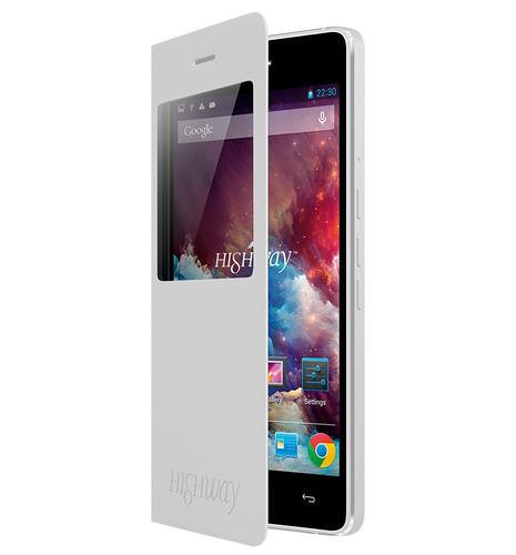 Wiko 92142 Handy-Schutzhülle (Weiß)