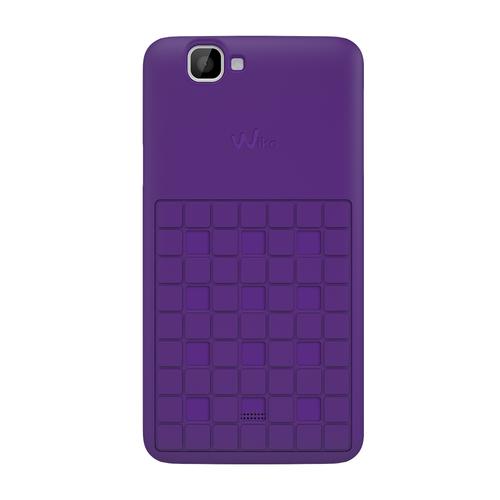 Wiko 92270 Handy-Schutzhülle (Lila)