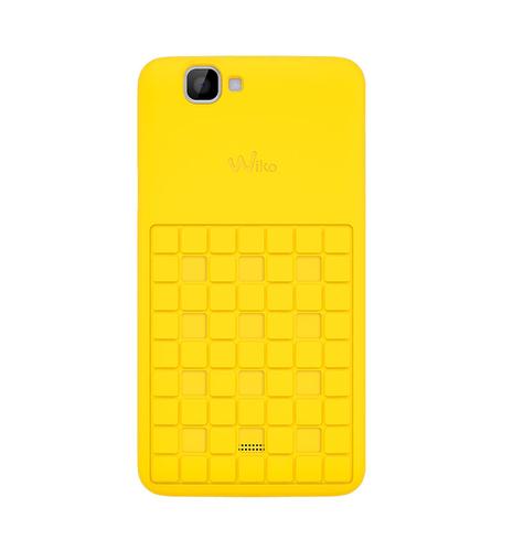 Wiko 92260 Handy-Schutzhülle (Gelb)