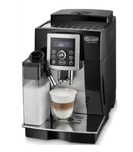 DeLonghi ECAM 23.463.B Kaffeemaschine (Schwarz, Silber)