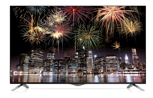 "LG 49UB830V 49"" 4K Ultra HD 3D Kompatibilität Smart-TV WLAN Schwarz LED TV (Schwarz)"