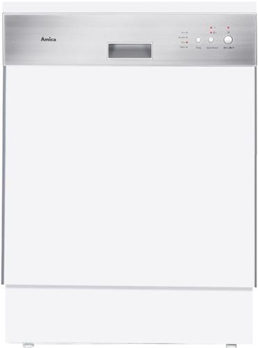 Amica EGSP 14096 E Spülmaschine (Edelstahl, Weiß)