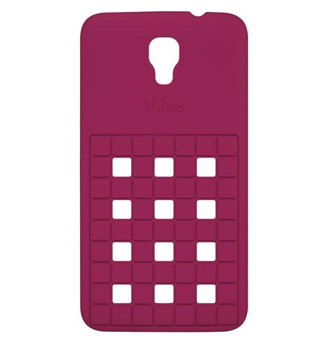 Wiko 92340 Handy-Schutzhülle (Pink)