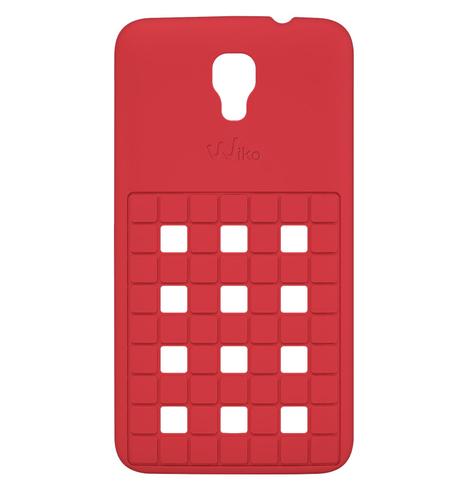 Wiko 92350 Handy-Schutzhülle (Coral)