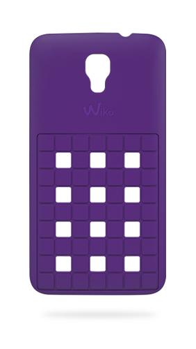 Wiko 92370 Handy-Schutzhülle (Violett)